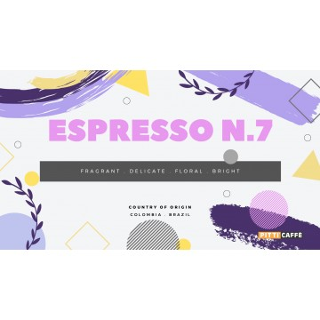 Espresso N.7 Roasted Coffee Beans