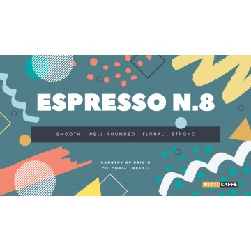 Espresso N.8 Roasted Coffee Beans