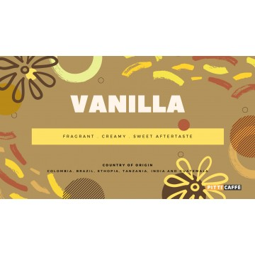 Capriccio Vanilla Roasted Coffee Beans